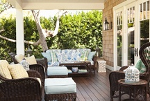 How to Decorate a Porch / Outdoor porch ideas for DIY decorating and how-to decorate a porch for an outdoor party or just for family gatherings. / by Laurie Turk TipJunkie.com