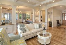 Open Concept Rooms