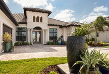 Villa Lucca Grande by DiPrima / This model offers a 3 or 4 bedroom option with 3 and a half baths and a 3 car garage. It is filled with luxury designer finishes, quality construction with attention to details, and is backed by 2-10 builder warranty.