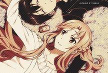 Sword Art Online / Kirito.Asuna.Yui <3