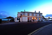 Godolphin Arms Unique Location / Located directly on the edge of the Atlantic and with stunning views over the iconic St Michael's Mount. / by Godolphin Arms