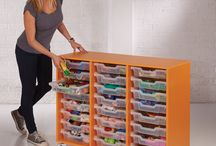 Shallow Tray Storage / A selection of our shallow tray storage units.