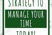 Zaman Yönetimi / Zaman yönetimi, boş zamanları değerlendirme, etkin çalışma, vakit kaybını önleme