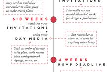 LET'S GET PLANNING! {wedding advice} / Get organised, formulate your thoughts, plan and get stuff done!