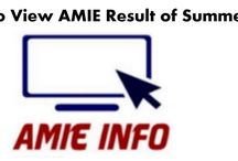 Popular Post of AMIE Info