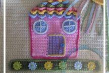 "CCW - Crochet ""Quiet"" Playbooks / Crochet themed quiet playbooks."