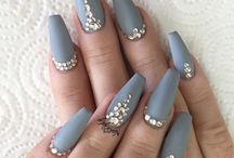 Inspiration naglar / Nya motiv, snygga mönster och färger