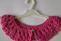 Crochet lace collar / Crochet lace collars.