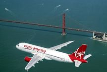 Virgin America / by My Dream Vacation Travel