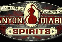 Canyon Diablo Spirits / From the legacy of the first legal distillery in Arizona, and the original mesquite smoked whiskey, prickly pear vodka, desert gin and chili vodka. We hand-craft world class, premium small-batch artisinal spirits. Located in flagstaff at 7000' elevation in the high country of Northern Arizona. pot stills hoga company; http://www.hogacompany.com