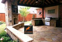 Patio Cover In Rockwall,Tx / Patio Cover And Outdoor Kitchens In Rockwall,tx