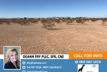 UCB! Fenced In 10-Acre Parcel / Make this property yours! Call DeAnn at 480-282-1010 or send her an email at dfry@fryteamaz.com.