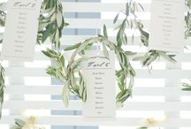 Table Numbers / Escort Card / Table Decor