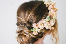 Flowersi in hair