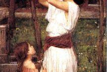 pre-Raphaelite artists
