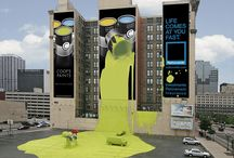 Outdoor Advertising / Creative and sometimes crazy billboards and outdoor ads. Effective? You decide.