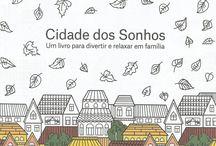 Vidas Simples para Colorir / Livro adulto para colorir / by Lilian Alves