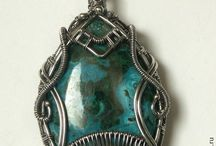Silver Wire Wrap / Hand Made