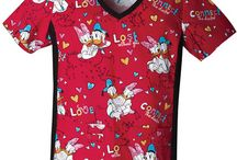 Donald Duck Scrubs