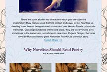 Creative Writing and Book Blog Posts
