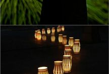 Kert - világítás