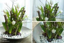 Lente decoraties