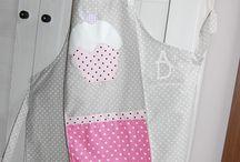 Kitchen- apron / Fartuszki kuchenne wzory