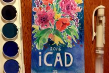 ICAD 2016 / Index card a day challenge hosted by Daisy Yellow, google it!