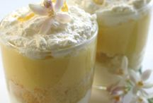 Dessert / Heerlijke taarten en toetjes