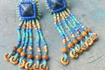Beading - Wheel Beads / www.etsy.com/shop/BeadsOfBohemia - COLLECTION OF SHIBORI RIBBON Designs, Patterns, Instructions, Inspiration. - pins marked * are FREE patterns or instructions, - pins marked *P are patterns or instructions to buy