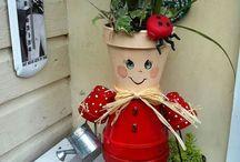 Funny flower pot.