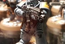 Warhammer Space Wolves / Inspiration for my Space Wolf Army.