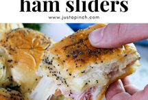 Hawaian roll ham sliders