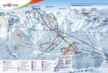 Skiing In Russia / Rosa Khutor Ski Resort in Russia, 30 miles from Sochi hosts the 2014 winter Olympics