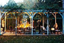 the backyard / by Heather Pheasey