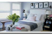 Small Bedroom Ideas / by Jennifer Serr