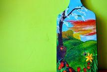 Ręcznie malowane - deski kuchenne / www.namalowane.pl