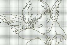 Angeli / Punto croce