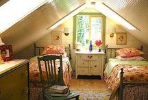 Cozy Bedrooms / by Trinity