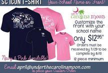 Custom Back to School Shirts / by UnderTheCarolinaMoon