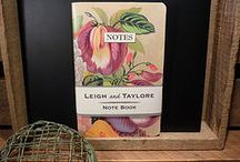 Leigh and Taylore Notebooks/Journals
