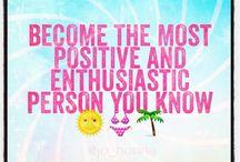 100 % Positivity :)