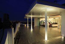 I'd live there! / Dream houses #treehouse #loft #penthouse #villa