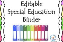 Special Education Binder {Editable} IEP Binder / Special Education Binder - IEP Binder. Being a special education teacher is a wonderful experience that, unfortunately, includes tons of special education paperwork that can sometimes become overwhelming. This binder is your key to tidying up your daily caseload, organizing key special education information, and focusing more on your students, rather than the paperwork.