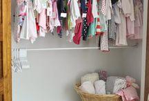 Baby G's closet