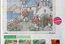Michael Powell Cross Stitch Art