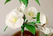 ručne robene kvety