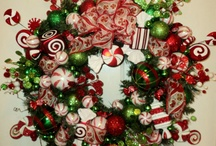 Wreaths / All kinds of ribbon and things wrapped around something to make something else super cute!