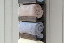 Towel rack ideas