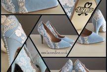 Blue Ophelia shoes / Perfect shoes for your something blue or to dance the night away in your party dress.